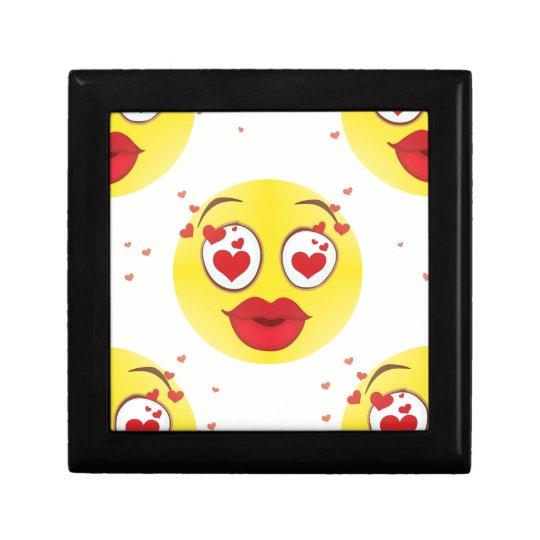 Valentine kiss Emoji Gift Box