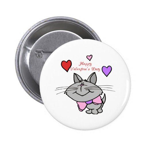 Valentine Kitty - Great Gift Idea for Kids Pin