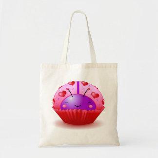 Valentine Ladybug Cupcake Bag