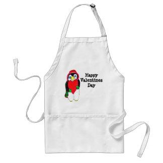 VALENTINE LITTLE PENGUIN apron