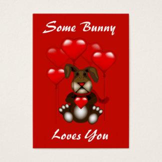 Valentine Love Bunny Balloons Custom Kids Pack