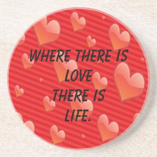 Valentine Love Coaster