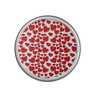 Valentine Love Hearts Speaker
