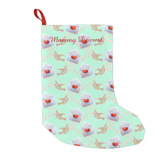 Valentine Love Letters Small Christmas Stocking