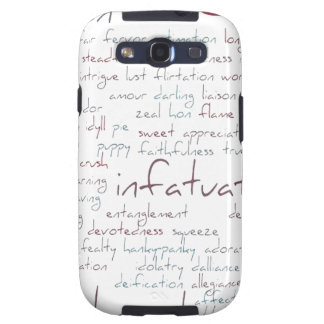 Valentine Love Word Cloud Galaxy SIII Covers
