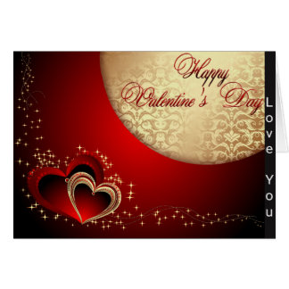 Valentine Love You Heart Card