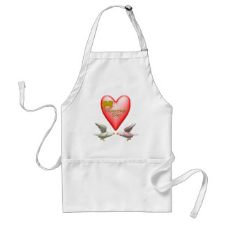 Valentine Lovers T-shirts and Gifts Apron