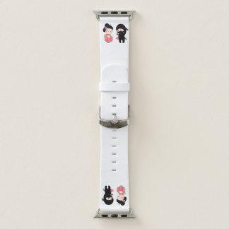 Valentine Ninja and Geisha Apple Watch Band