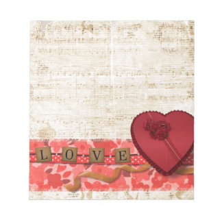 Valentine Notepad