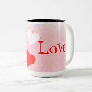 Valentine Origami Heart Cup