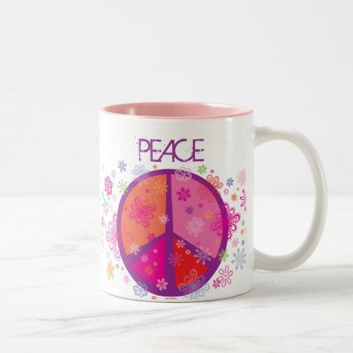 Valentine Peace mug