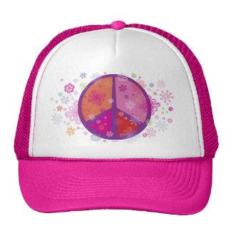 Valentine Peace Sign Trucker Hat