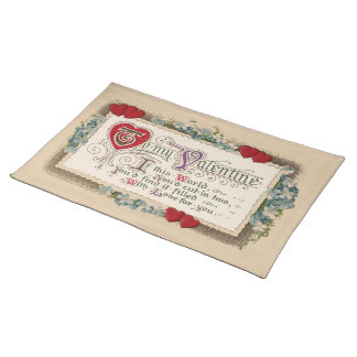 Valentine Poem Placemat