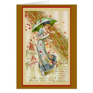 Valentine Prayer Card