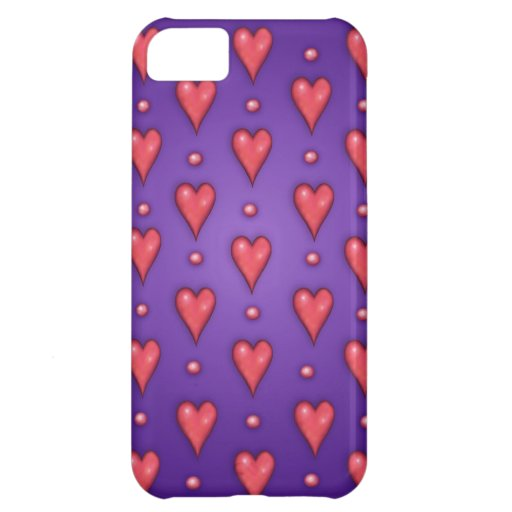Valentine Purple Cover For iPhone 5C