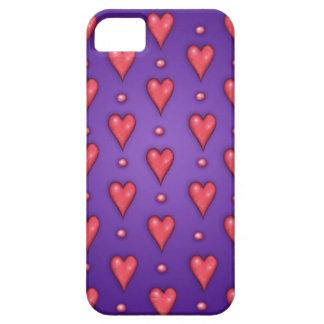 Valentine Purple iPhone 5 Cases