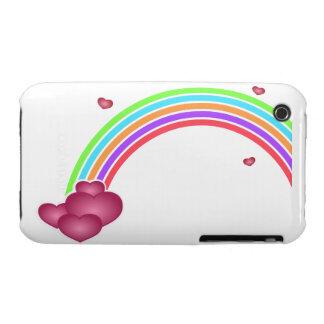Valentine' Rainbow Blackberry Curve Case-Mate Case iPhone 3 Case-Mate Case