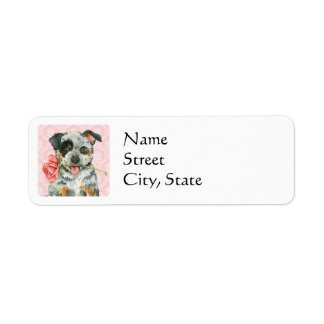 Valentine Rose ACD Return Address Label