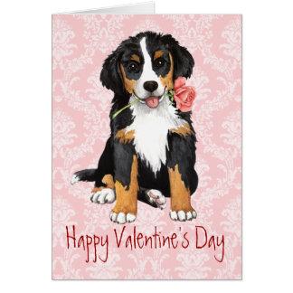 Valentine Rose Berner Card