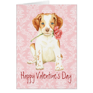 Valentine Rose Brittany Card