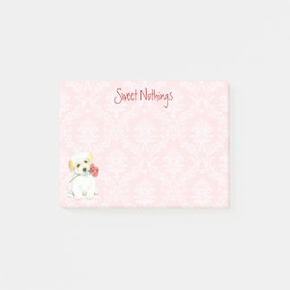 Valentine Rose Coton Post-it Notes