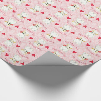 Valentine Rose Coton Wrapping Paper