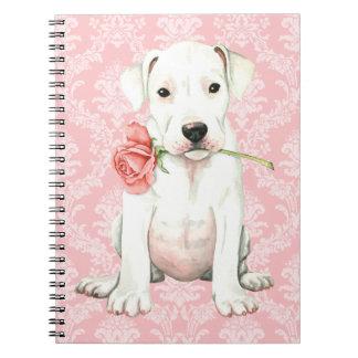 Valentine Rose Dogo Notebooks