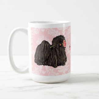 Valentine Rose Puli Coffee Mug