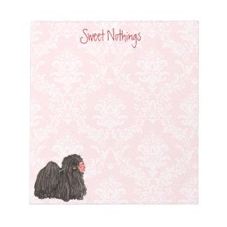 Valentine Rose Puli Notepad