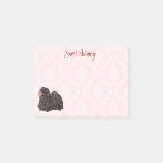 Valentine Rose Puli Post-it Notes