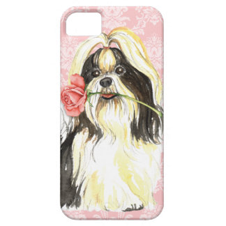 Valentine Rose Shih Tzu iPhone 5 Covers