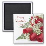 Valentine Roses Magnet