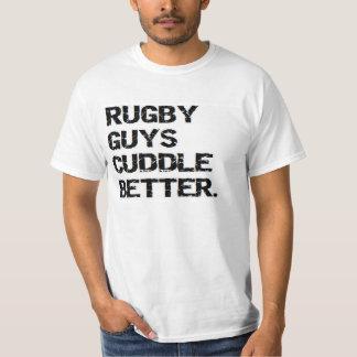 valentine: rugby guys cuddle better T-Shirt
