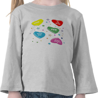 Valentine s Candy Hearts T-shirt