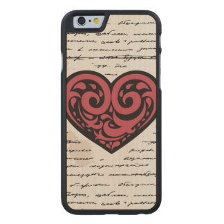 Valentine s Day 2 Carved® Maple iPhone 6 Slim Case