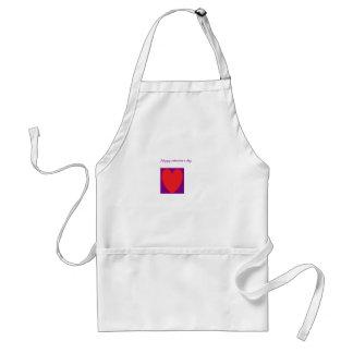 valentine s day apron