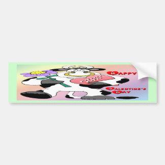 Valentine s Day Bull Bumper Stickers