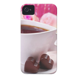 Valentine' S Day: Coffee & Chocolate Seventeen iPhone 4 Case-Mate Cases