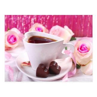 Valentine' S Day: Coffee & Chocolate Seventeen Postcard