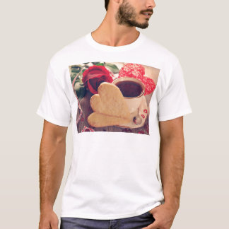 Valentine' S Day: Coffee & Chocolate Twelve T-Shirt