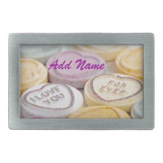 Valentine s Day Cute Qpc Template Gifts Rectangular Belt Buckles