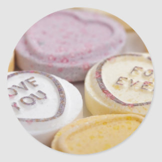 Valentine s Day Cute Qpc Template Gifts Round Sticker