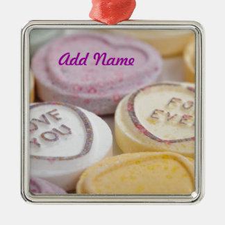 Valentine s Day Cute Qpc Template Square Ornament