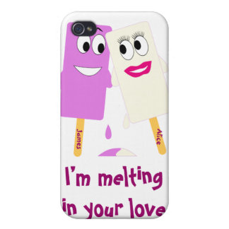 Valentine's Day Funny ice cream 4  iPhone 4/4S Cover