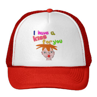 Valentine's Day funny kiss Hat
