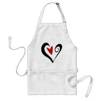 Valentine s Day Heart Apron