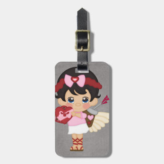 Valentine s Day Heart Cupid Tag For Luggage