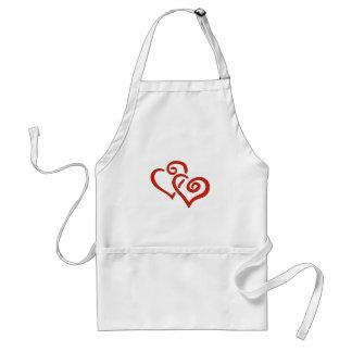 Valentine s Day Hearts Apron