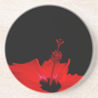 Valentine's Day Hibiscus Coaster