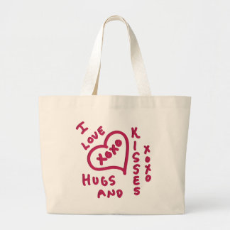 Valentine s Day hugs and kisses Bags